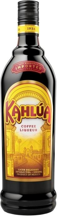 Liqueur Kahlua Coffee 20% 1L