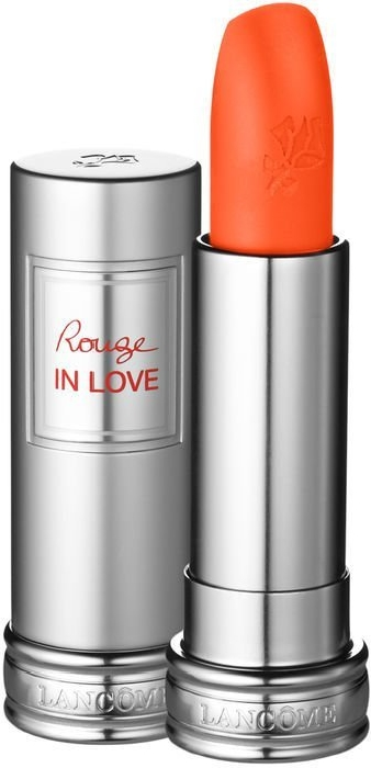 Lancome Rouge in Love Lipstick N146B Miss Coquelicot 4ml