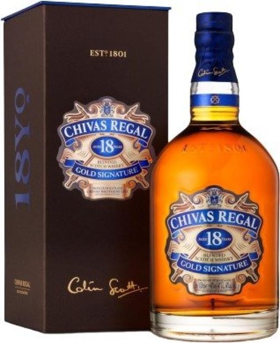 Chivas Regal 18 years old 40% 1L