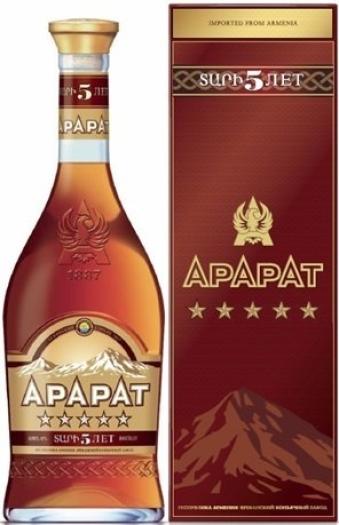 ArArAt 5 Stars 40% 0.7L