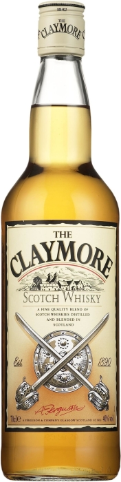 The Claymore whisky 1L